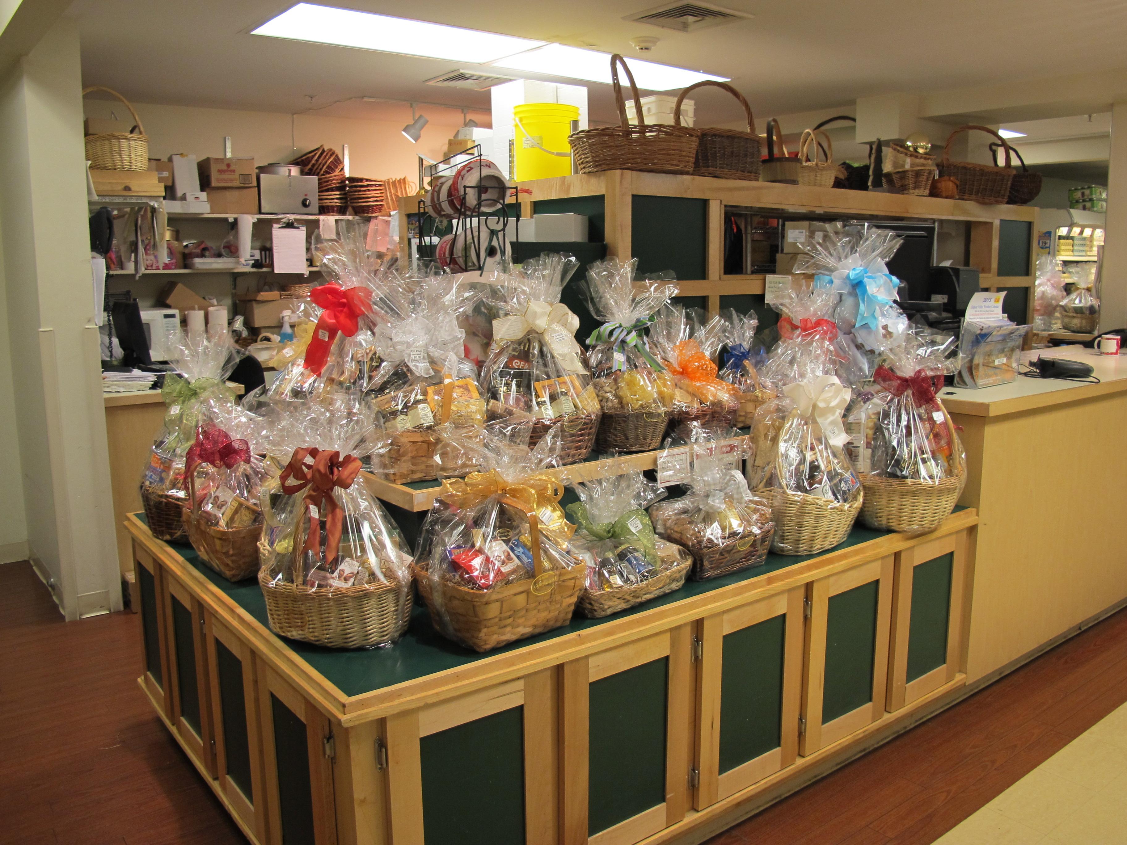 Custom gift baskets and chocolate shop…
