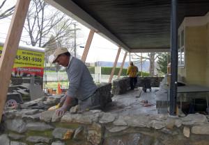 Fixing the masonry