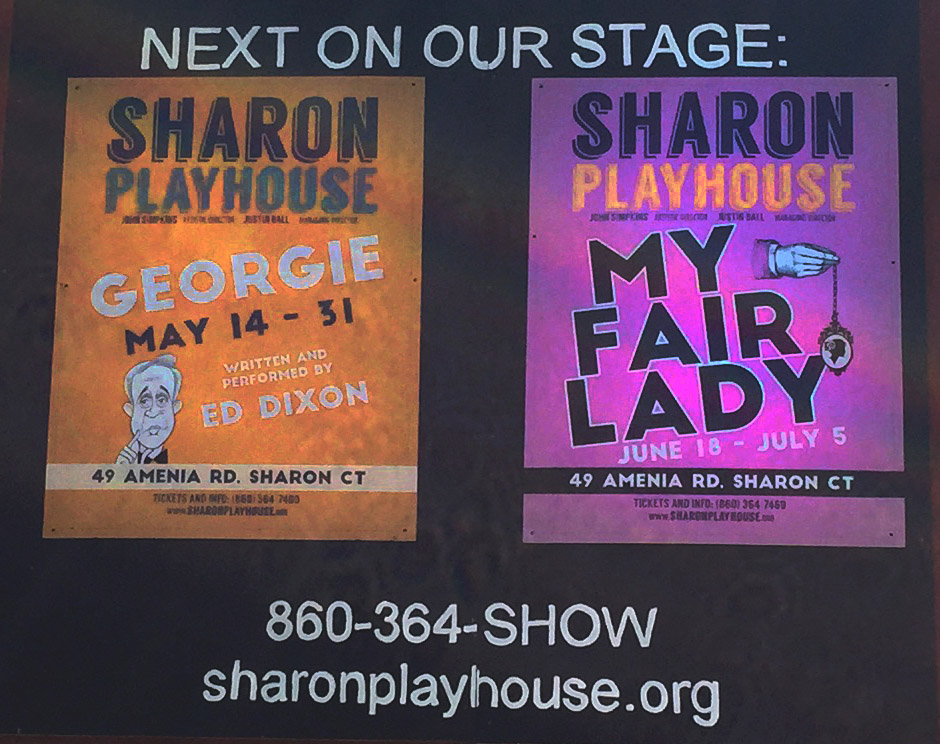 posters of Georgie and My Fair Lady